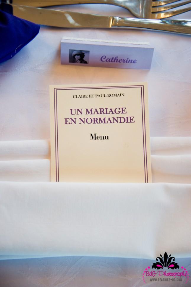 menu Mme Bovary