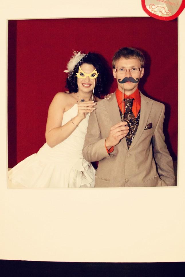 photobooth mariés