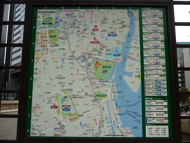 plan de Tokyo