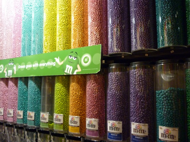 boutique de M&M's à New York