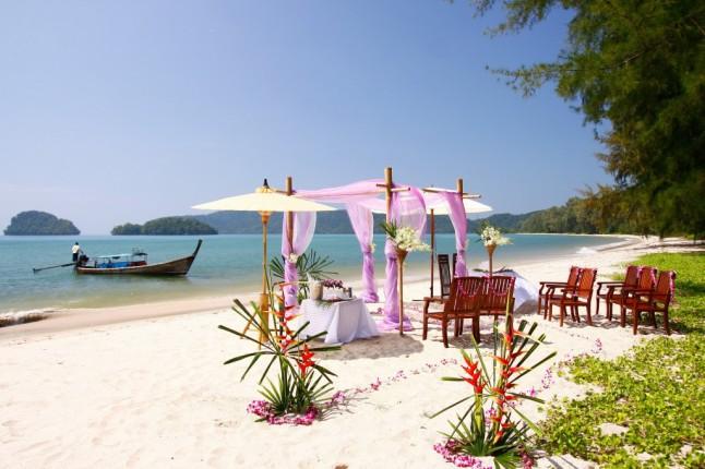 mariage plage Thaïlande