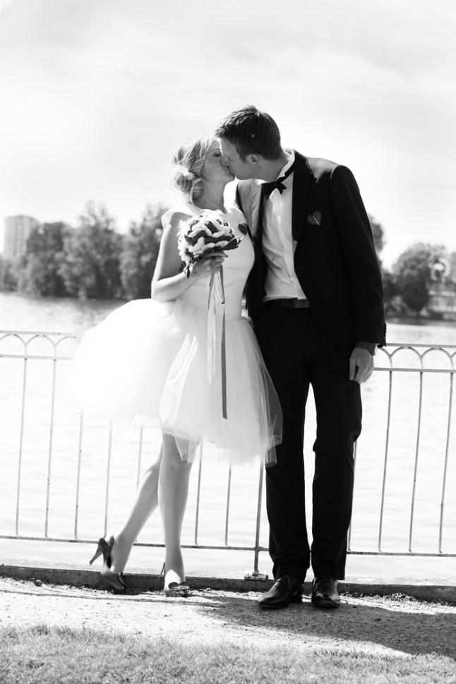 mariage rouge blanc couple