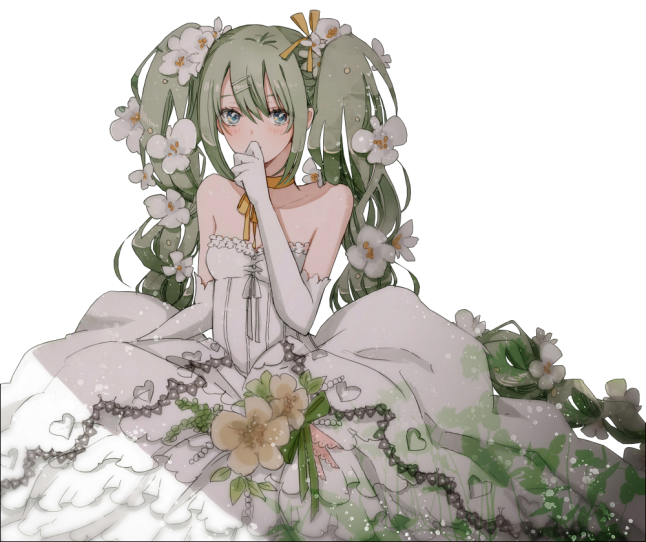 mariée innocente