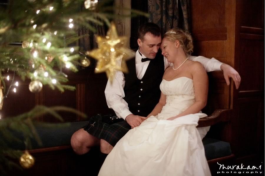 mariés à Noël