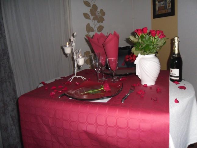 table demande en mariage
