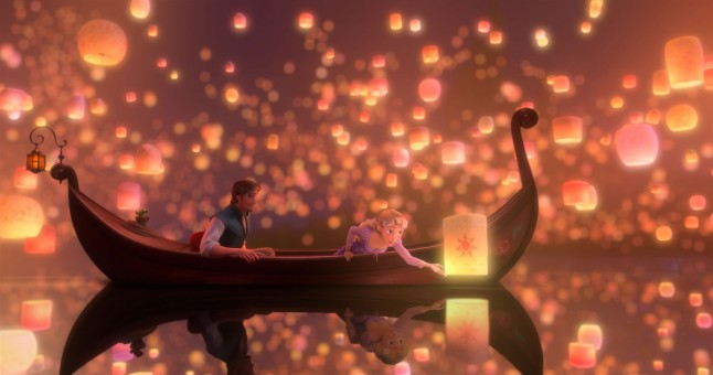 Lanternes thaï Raiponce