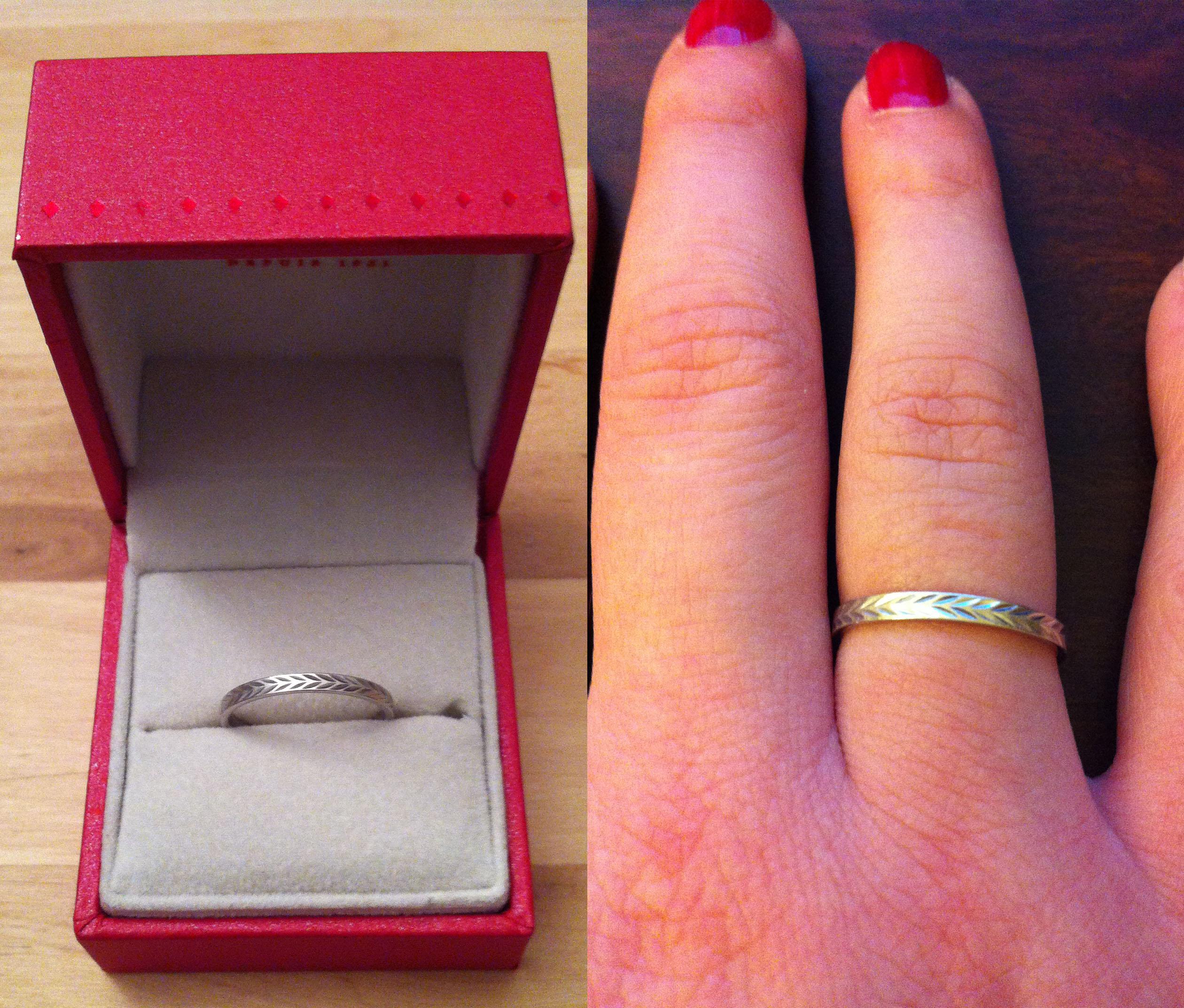 L'histoire de mes deux bagues de fiançailles… (Oui, deux !)