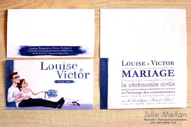 illustratrice faire-part mariage