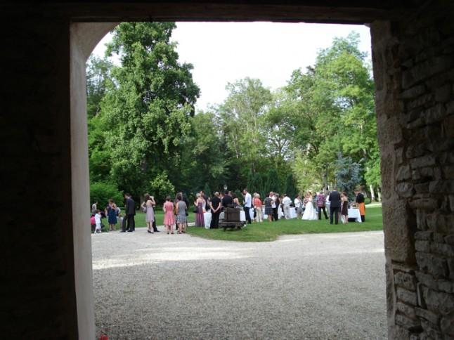 mariage bourgogne château