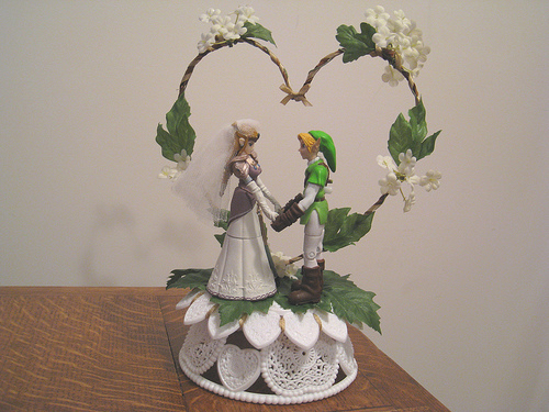 cake topper Zelda