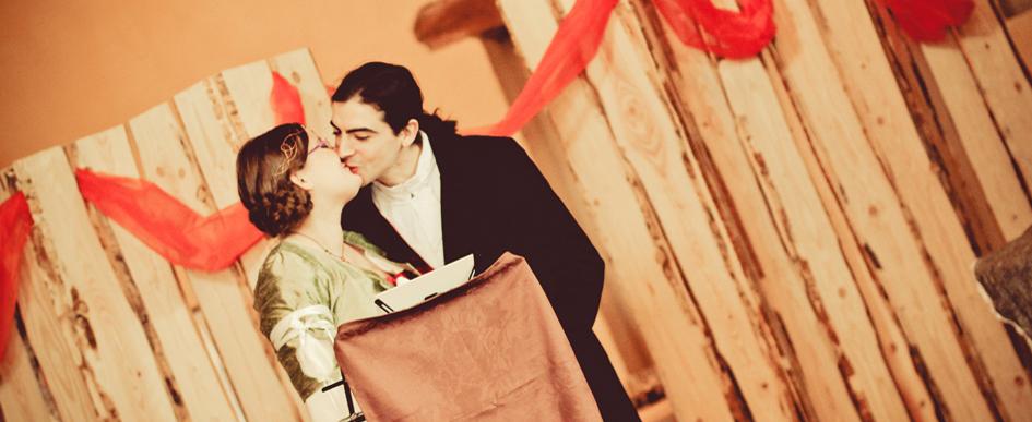 Mon mariage médiéval : l'arrivée à la salle et le début de la cérémonie laïque