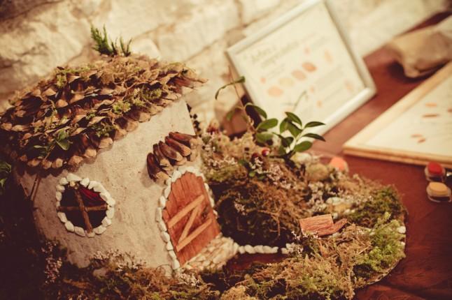 urne maison de fée