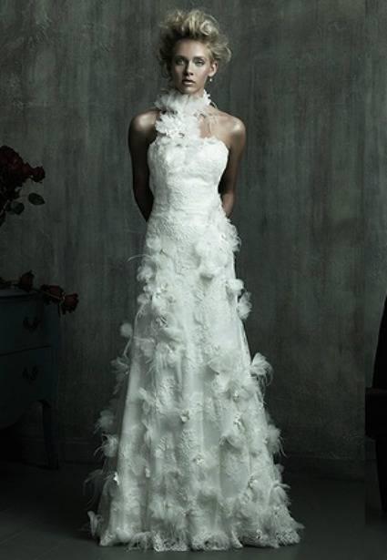 robe à plumes