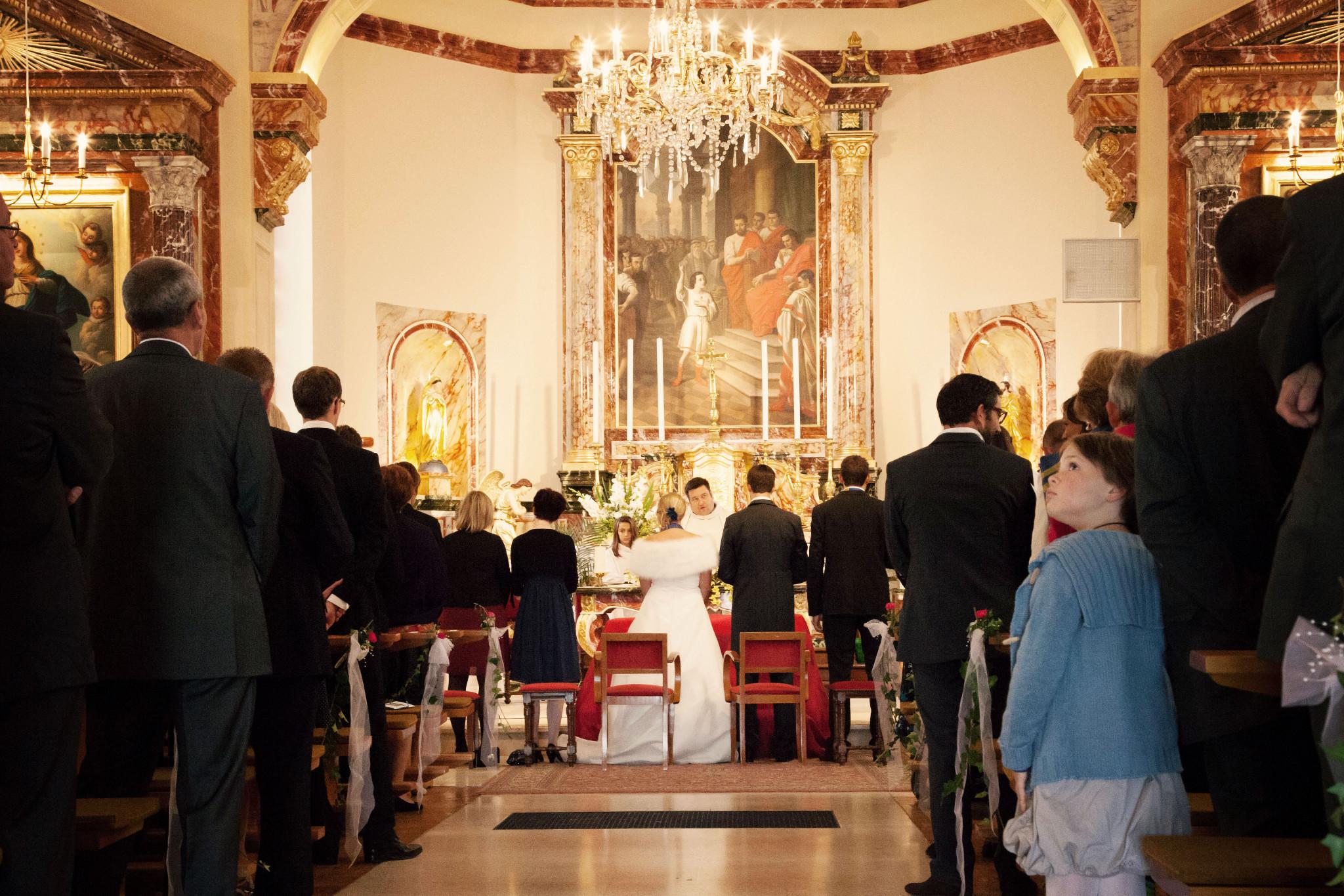 Mon mariage Orient Express : la messe