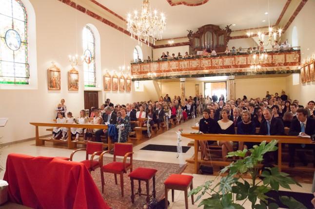 assemblée et chorale église