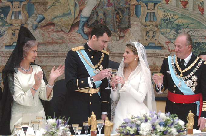 mariage princier espagnol
