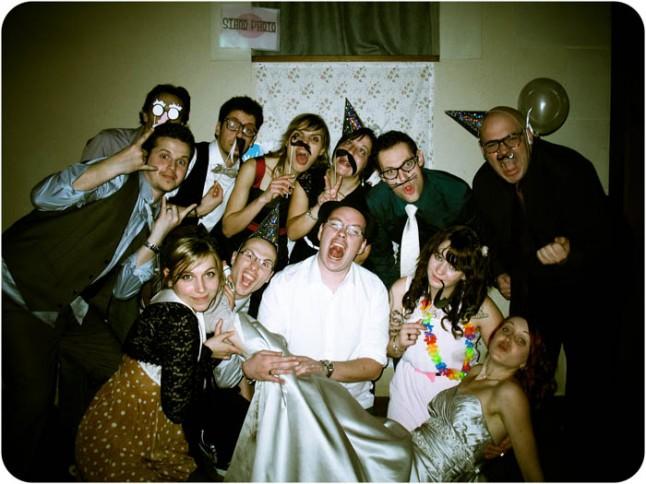 mariage neige chateau mariée rousse photobooth