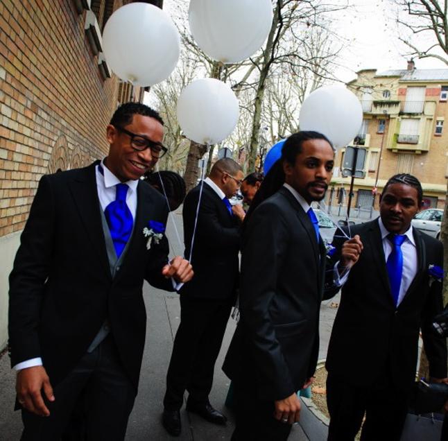 mariage paris péniche temoins ballons