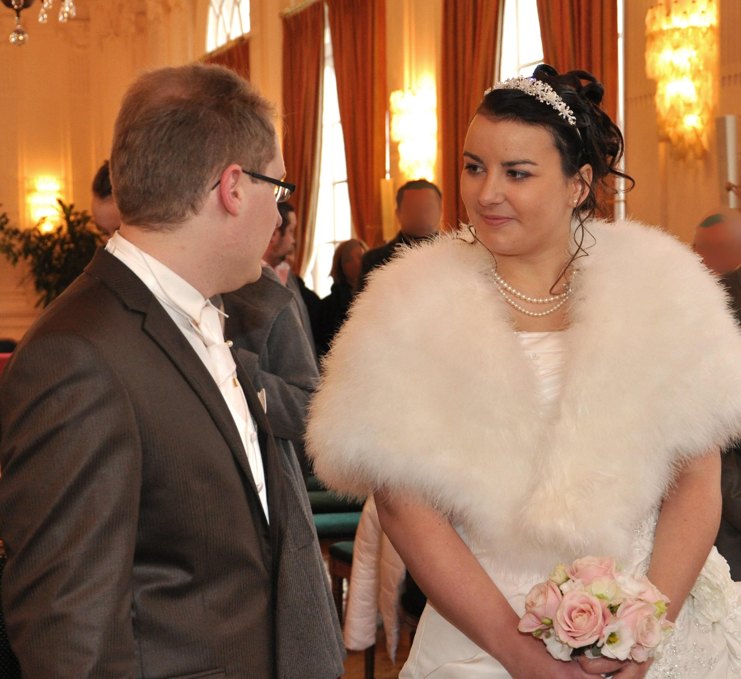Mon mariage hivernal : la cérémonie civile