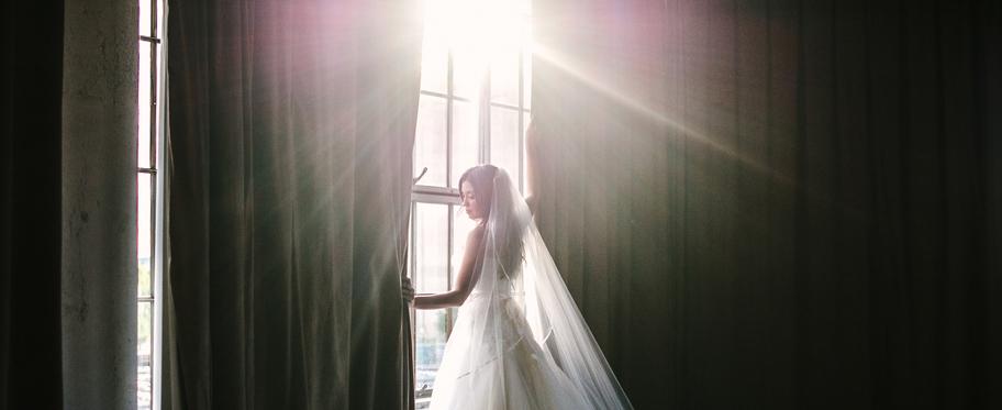 Se marier quand on vient de perdre son papa…