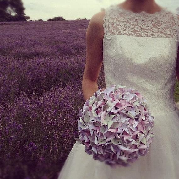 Bouquet en minis moulins à vent