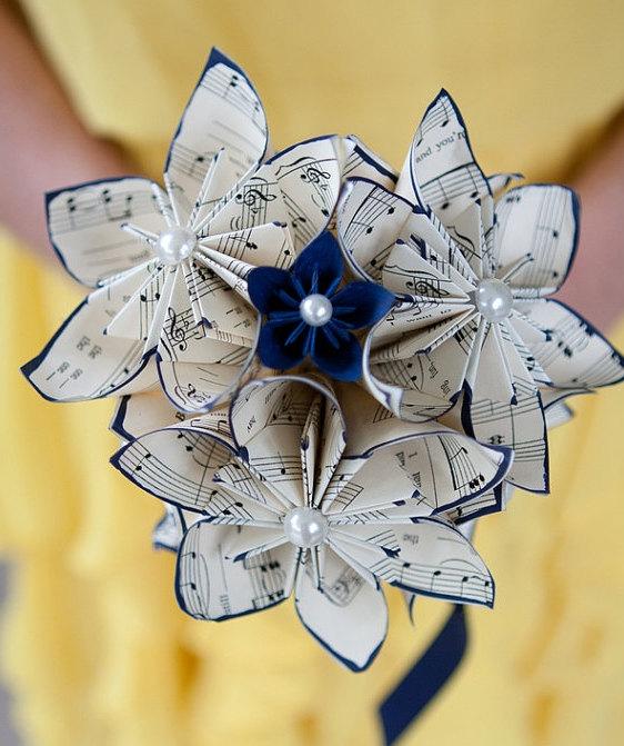Bouquet Partitions en origami