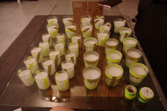 bougies ivoire anis  chocolat