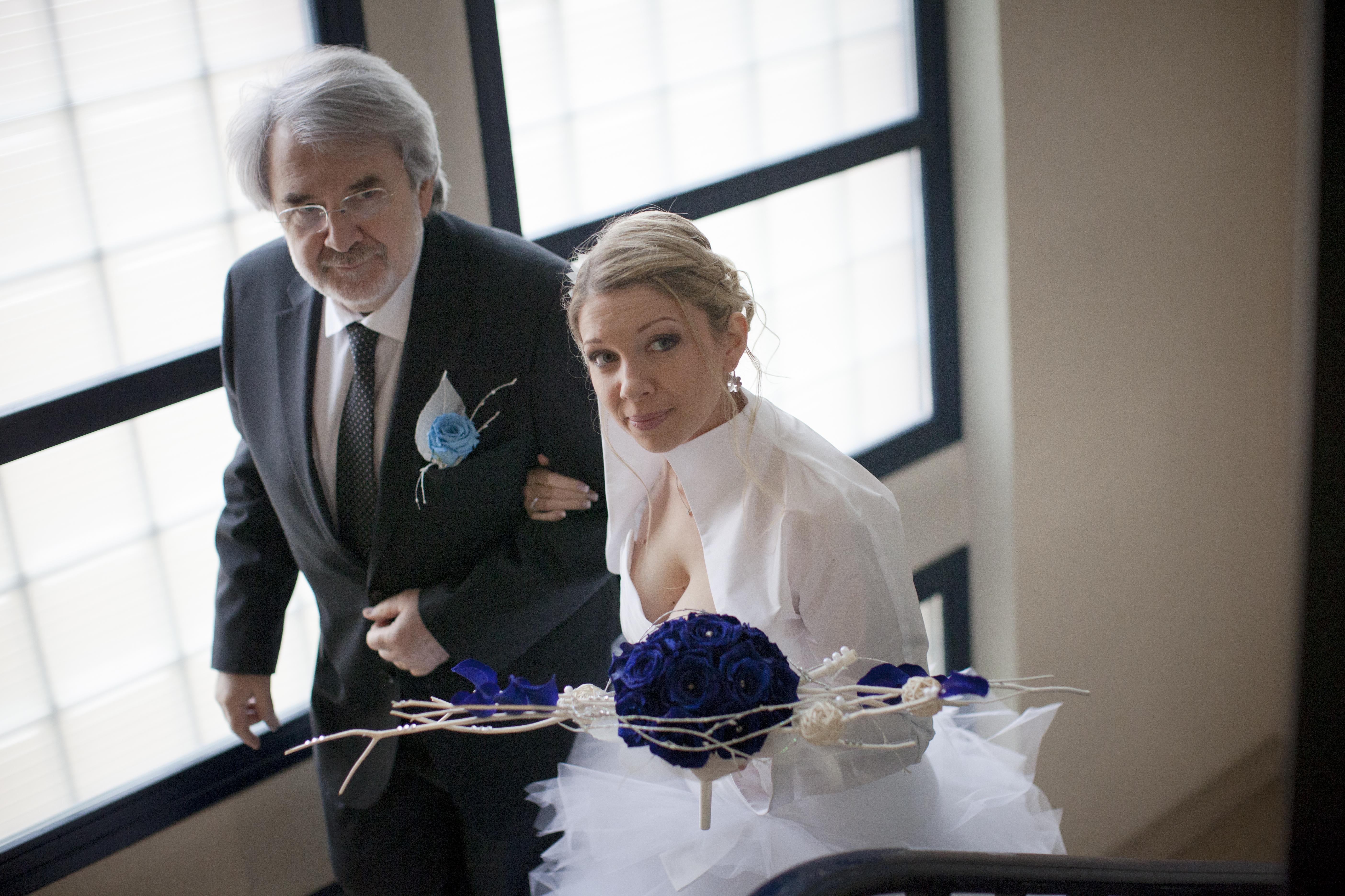 Mon mariage aux couleurs de l'hiver : la cérémonie civile