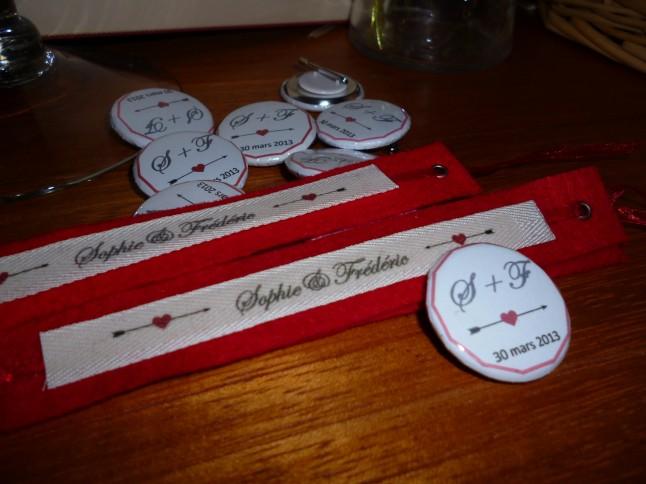 badges et bracelets