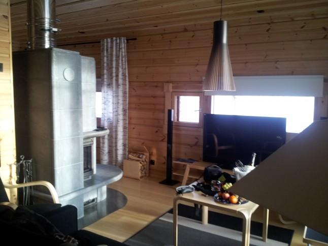 voyage de noces en Laponie finlandaise - le châlet