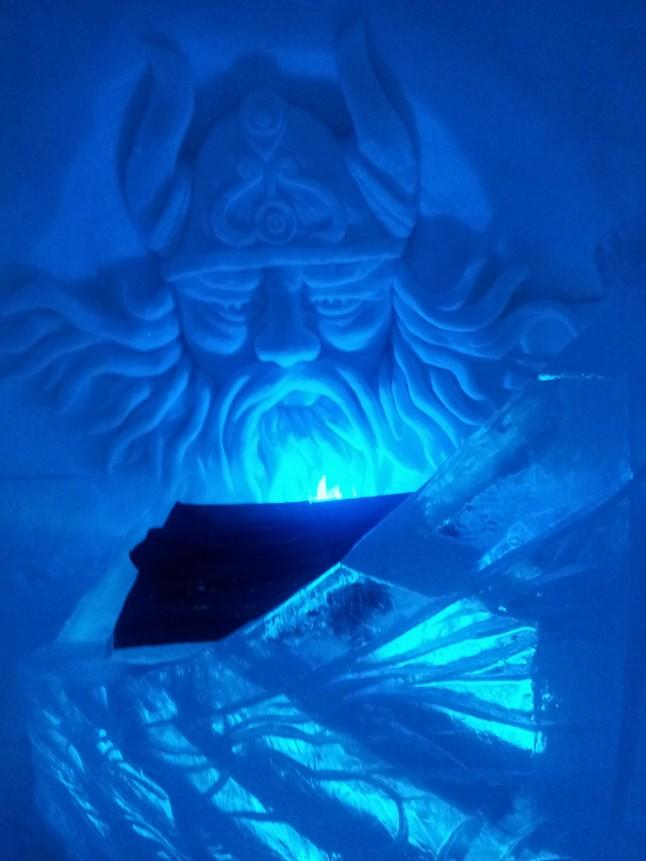 voyage de noces en Laponie finlandaise - l'hôtel de glace