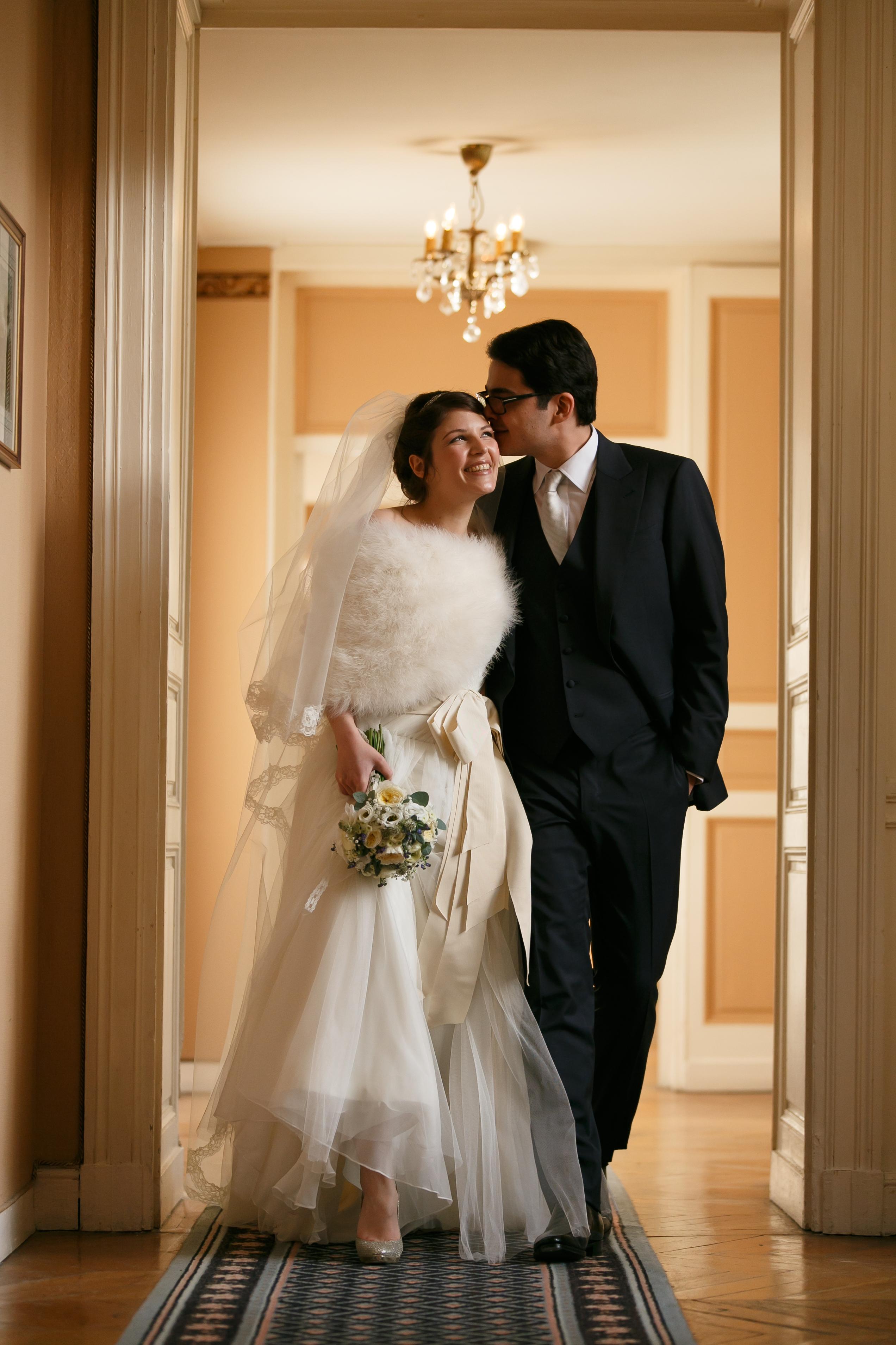 Mon mariage d'hiver à gros budget – nos photos de couple et les avantages d'avoir un photographe pro