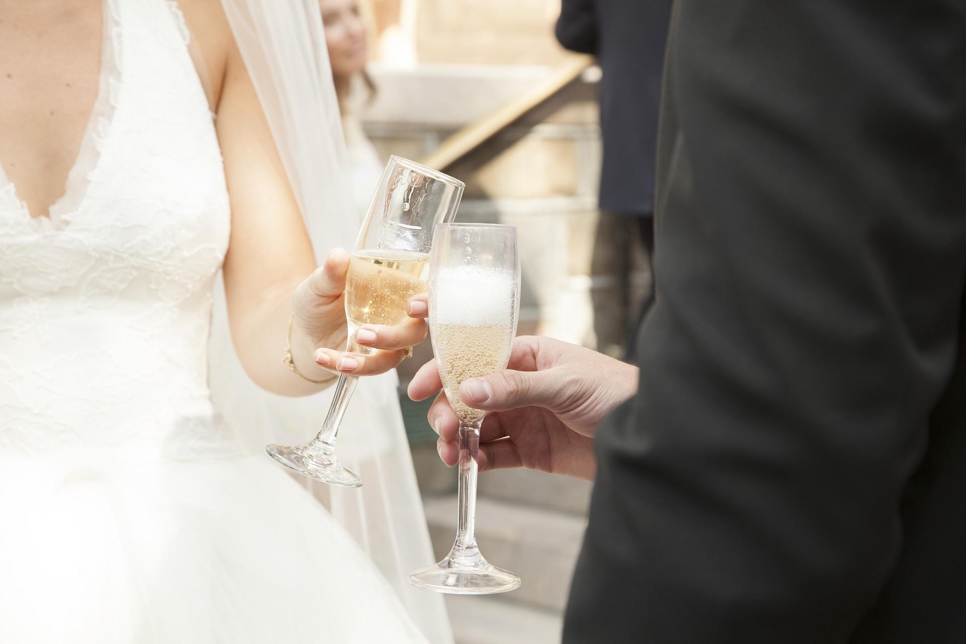 Mon mariage simple et chic : le vin d'honneur et le cocktail
