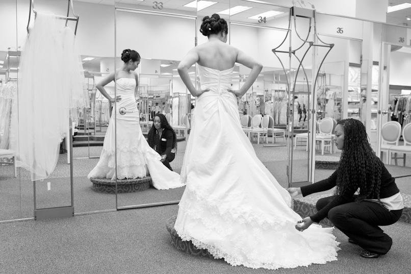 Toi et ta robe de mariée : coup de coeur obligatoire ?