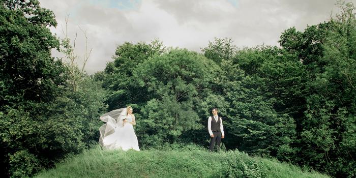 Le mariage en vert et rose tendre d'Aurélia