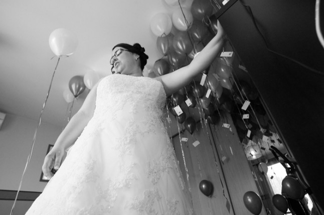 mariage lot et garonne turquoise et fushia mariée