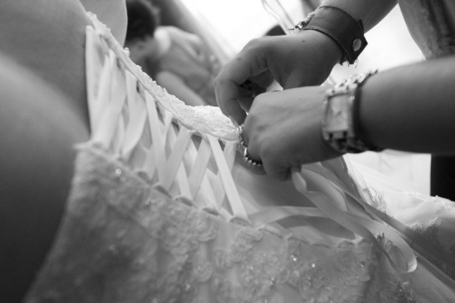 mariage lot et garonne turquoise et fushia robe de mariée