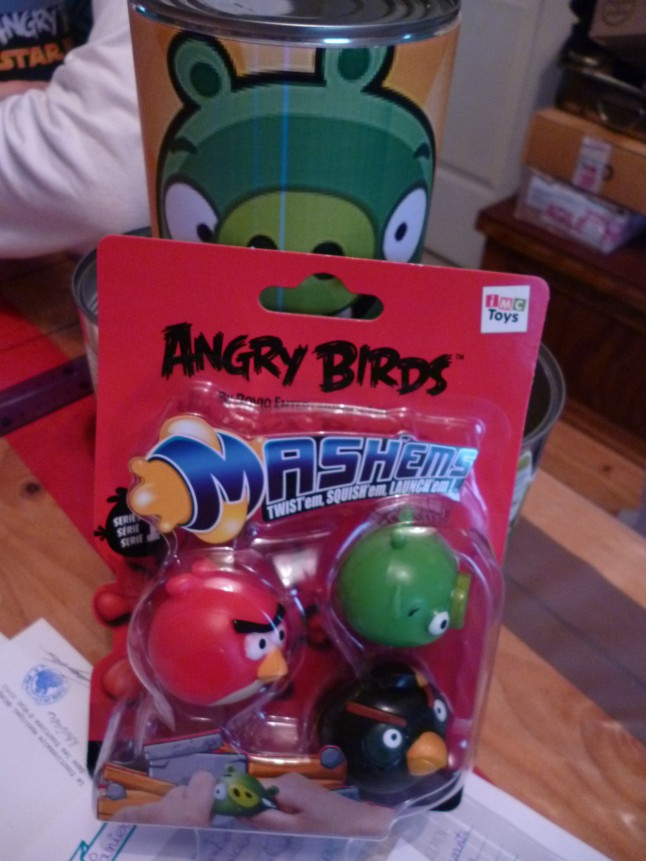 balles Angry Birds