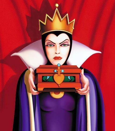 méchante reine Blanche Neige