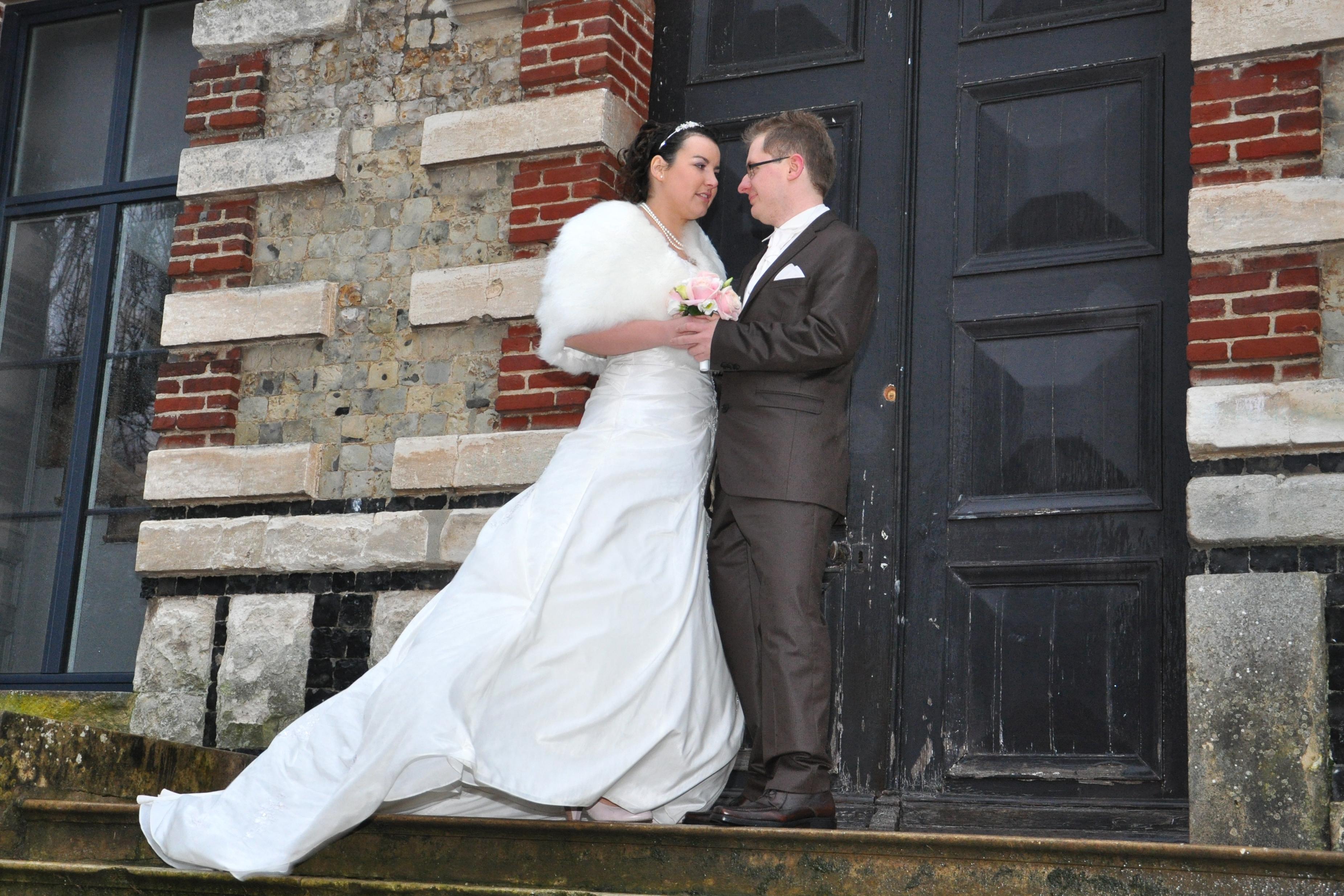 Mon mariage hivernal : les photos de couple