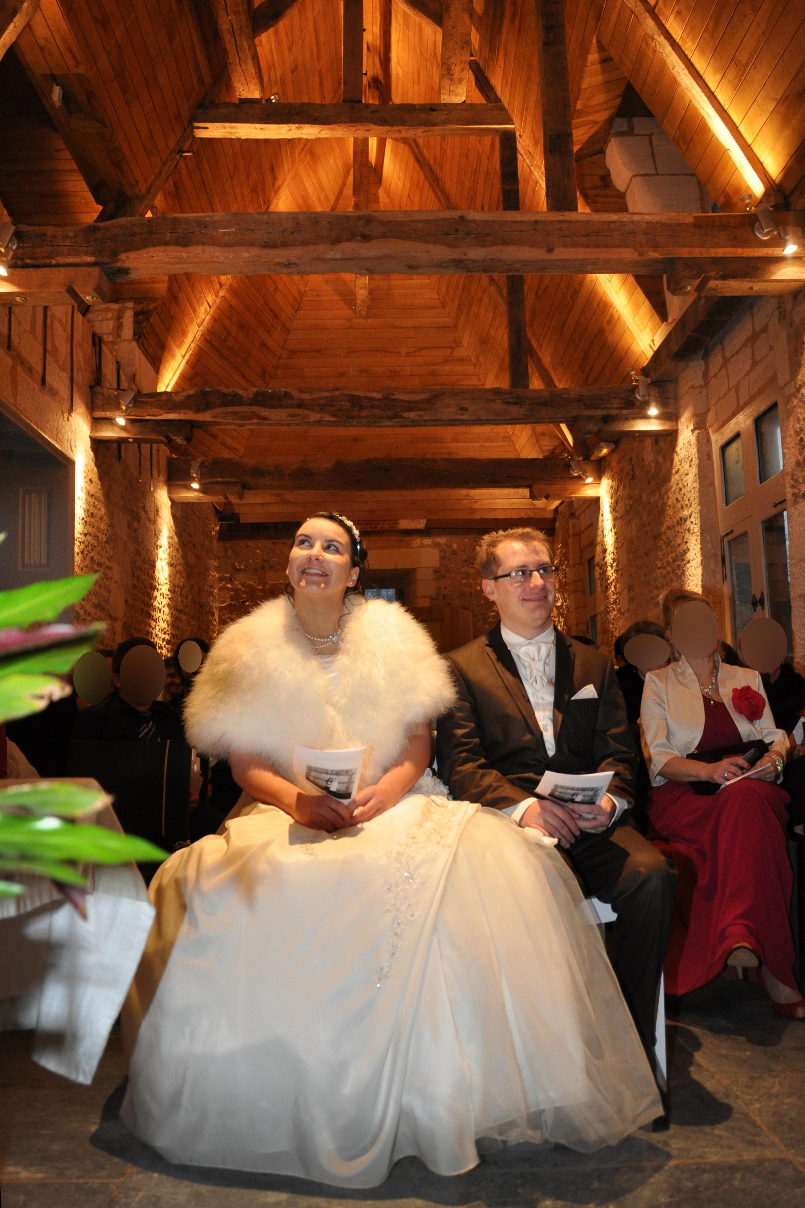Mon mariage hivernal : la cérémonie religieuse