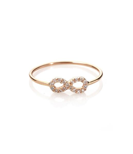 Bague Infini diamants