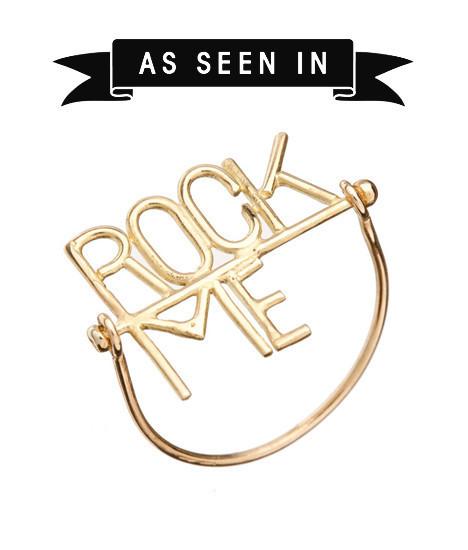 Bague Rock Me