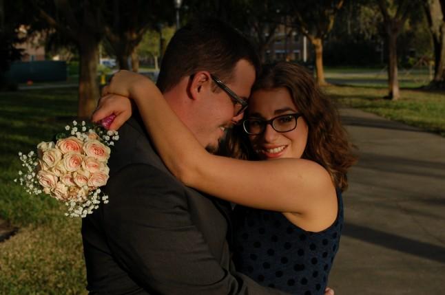 séance photos d'engagement