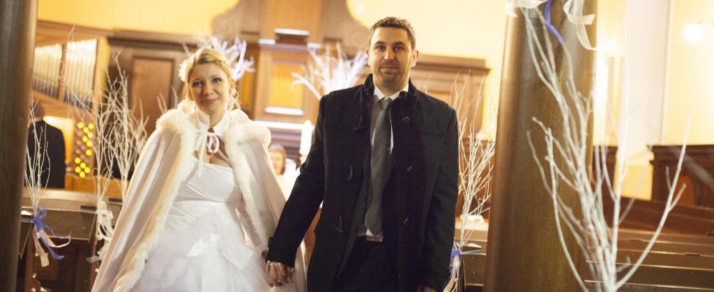 Mon mariage aux couleurs de l'hiver : la cérémonie religieuse