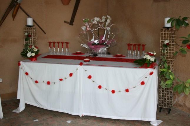 Notre f te de fian ailles pendant l 39 t mademoiselle - Decoration fete de fiancaille ...