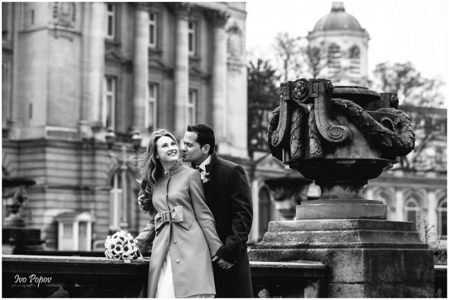 photos d'engagement fontaine Brugges