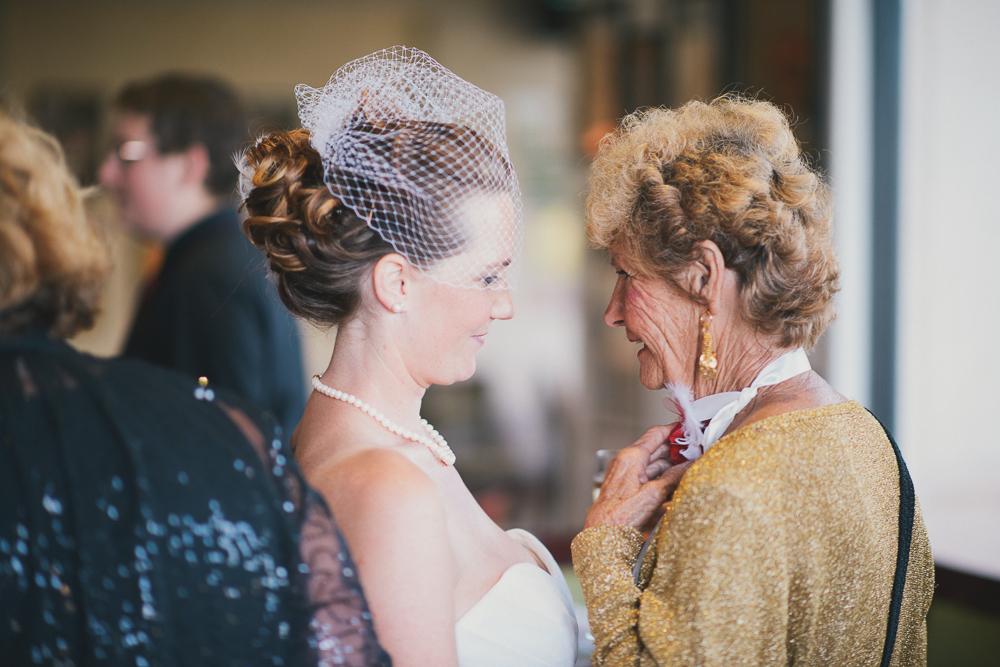 grand-mère de la mariée