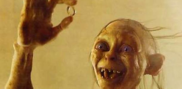 Gollum mon précieux anneau