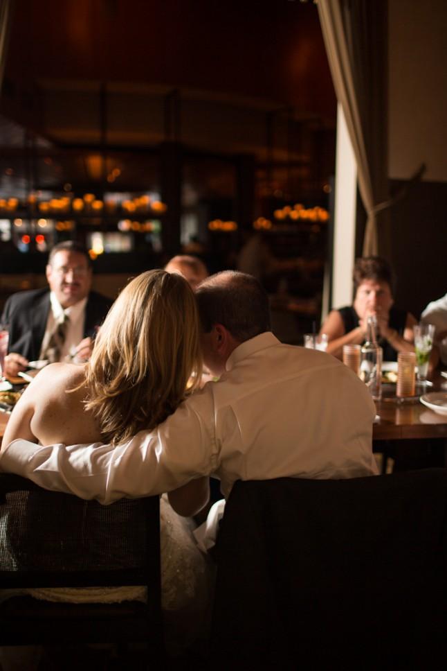 repas de mariage au restaurant